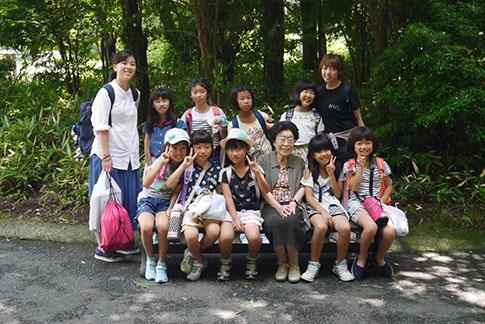 卒園児キャンプ